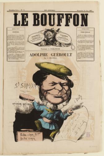 Pilotell, Le Bouffon, juin 1867.