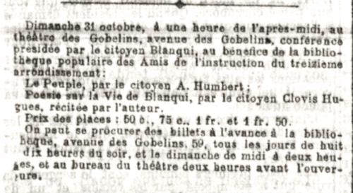 Le Petit Parisien 27 octobre 1880