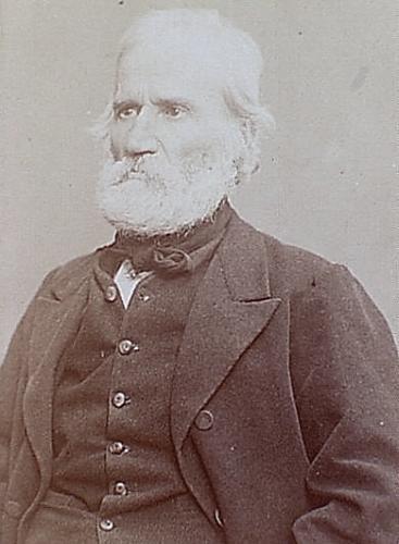 Auguste Blanqui (1805-1881) Photo E. Appert, Ville de Paris, BHdV