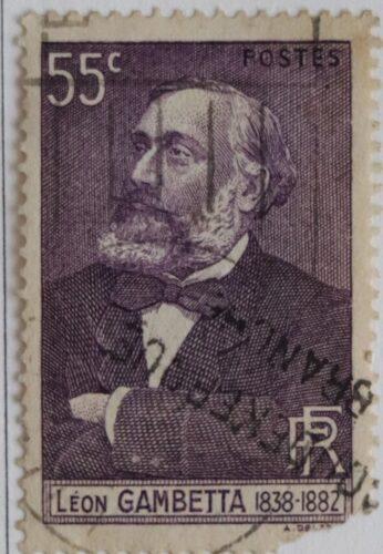 Léon Gambetta Timbre-poste, collection P. Deblock